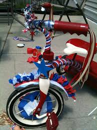 for parade decorating tricycle for parade 4th of july bike decorating