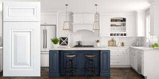white kitchen cabinets raised panel park ave white raised panel assembled kitchen cabinets rta