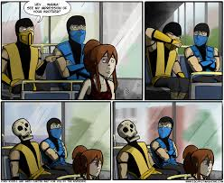 lol cuz scorpion killed his brother funny pinterest