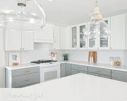 white tile kitchen backsplash white iridescent hexagon tile kitchen backsplash transitional