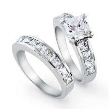 engagement and wedding ring sets trio ring sets diamond simple wedding ring sets wedding