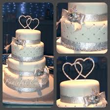wedding cake with bling on wedding cakes bling 9 33746 the best