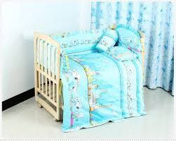 Minnie Mouse Infant Bedding Set Promotion 6pcs Bedding Baby Cradle Crib Netting Bedding Set For