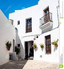white houses with courtyards royalty free stock photos image