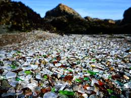 glass beach glass beach disappearing in ft bragg grindtv