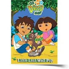 lost wolf pup diego books