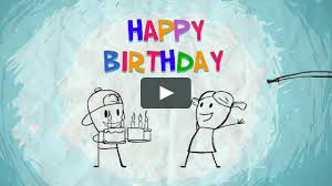 funmoods happy birthday sister animated card on vimeo