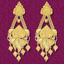 gold earrings design beautiful gold earrings indian designs jewellry s website