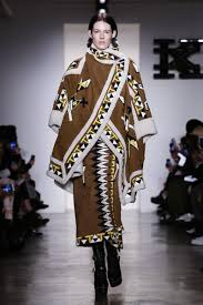 Native American Inspired Clothing Ktz Ready To Wear Fall Winter 2015 New York Nowfashion