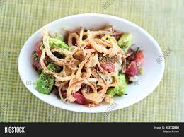 hawaiian fusion cuisine hawaii poke bowl food poke bowl image photo bigstock