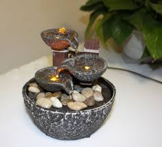 fountain for home decoration bowl small indoor fountain home decoration led lighting light