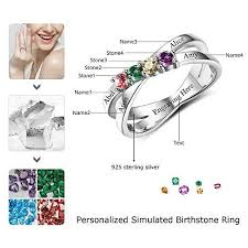 design your own mothers rings design your own mothers rings with children sumilated birthstones