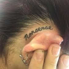 Tattoo Ideas For Behind Ear 40 Amazing Behind The Ear Tattoos For Women Blackwork Tattoo