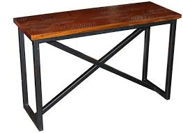 Wooden Sofa Tables by Occasional Tables Industrial Craftsman