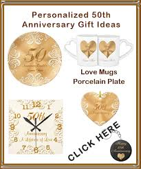 50 wedding anniversary gifts wedding anniversary gifts traditional 50th wedding anniversary