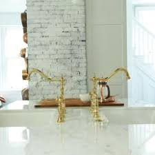 gold kitchen faucets photos hgtv