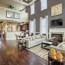 Twostory Family Room That Is Ideal For Social Gatherings For - Two story family room