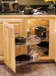 Kitchen Cabinet Storage Systems Ask Unclutterer Corner Kitchen Cabinets Unclutterer