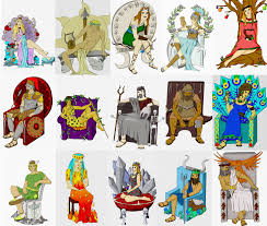 history of greek mythology