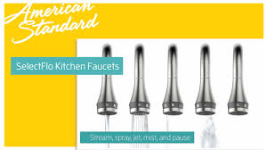 Kitchen Faucets American Standard by Xavier Selectflo Kitchen Faucets By American Standard Youtube