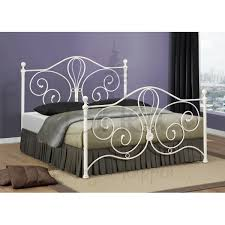 cheap birle florence cream metal bed frame for sale online