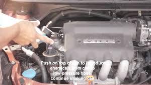 honda crv air conditioner compressor recharging ac 2007 honda fit r134a
