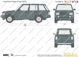 range rover vector the blueprints com vector drawing land rover range rover