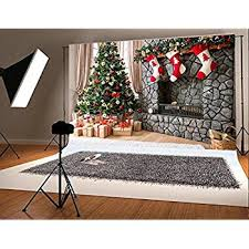 amazon com lb 7x5ft christmas poly fabric photo backdrops