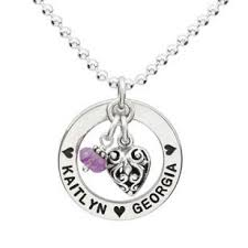 necklace for mothers forever circle necklace s necklace