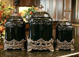 black kitchen canisters sets black and white kitchen canister set morespoons b2db7fa18d65