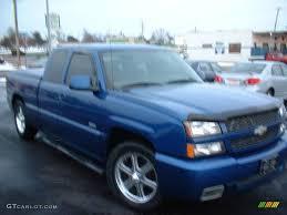 2004 arrival blue metallic chevrolet silverado 1500 ss extended