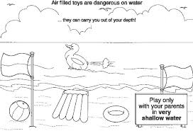 coloring pages water safety thames police water safety colouring book page kids coloring pages