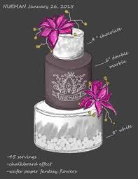 wedding cake sketches 5000 simple wedding cakes