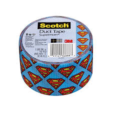 3m scotch 1 88 in x 10 yds superman duct tape 910 spm c the
