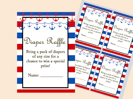 Card Inserts For Invitations Nautical Baby Shower Inserts Magical Printable