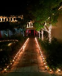 Candy Canes Lights Outdoor by Lawn Lights Home Depot Christmas Pathway Markers Candy Cane