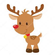 imagenes animadas de renos de navidad renos de navidad vector ilustración de dibujos animados archivo