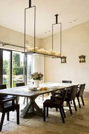 Modern Chandeliers Dining Room by Lighting Over The Farmhouse Table The Winner Rectangular
