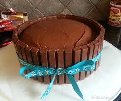 How To Decorate Chocolate Cake At Home Birthday Cake Ideas U2013 Kit Kat Cake Recipe Little Miss Kate