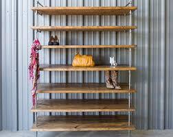 Vinyl Record Bookcase Industrial Vinyl Record Storage Shelf Unit Modern Bookcase