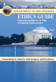 Department Of The Interior Doi Doi Ethics Guide Quickseries