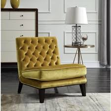 Yellow Velvet Armchair Velvet Living Room Chairs Shop The Best Deals For Nov 2017