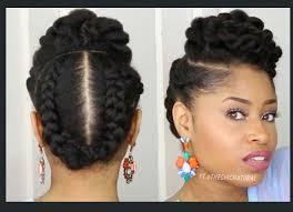 black bun hairstyles vissa studios 5 gorgeous natural hair styles that are super easy to do black