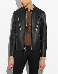 Leather Barn Coat Coach 1941 Men U0027s Outerwear