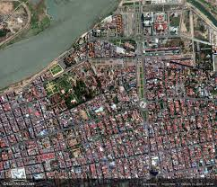 Satellite View Map Satellite Views And Political Maps Of South East Asia