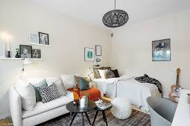 amenager chambre dans salon chambre salon aménagements astucieux pour petits espaces