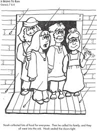 bible stories for toddlers coloring pages it begins to rain bible coloring page for kids to learn bible
