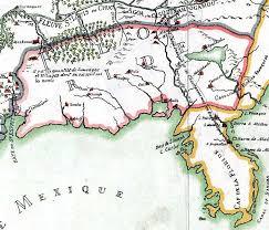 louisiana florida map detail franquelin s map of louisiana 1684