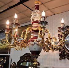 porcelain chandelier ebay