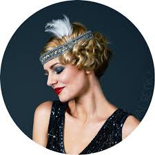 1920s headband 1920s feathers headband flapper style 1920s the roaring 20s